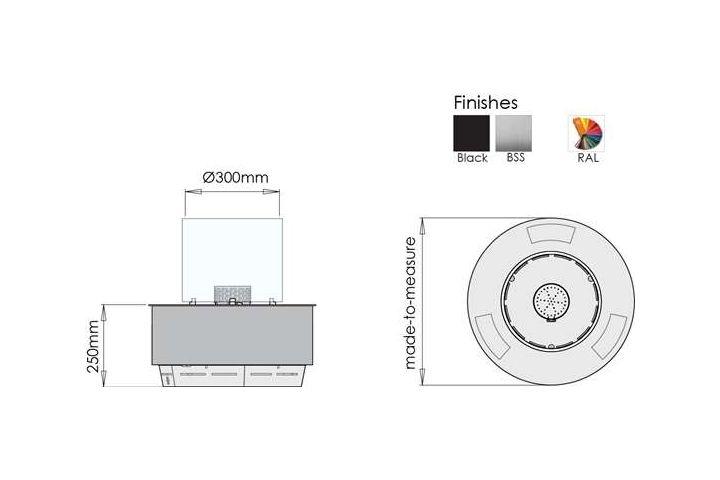 BiokominekautomatycznyDenverRound wymiary