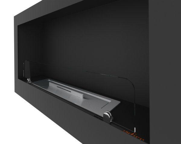 Biokominek Inside 900 Black detale