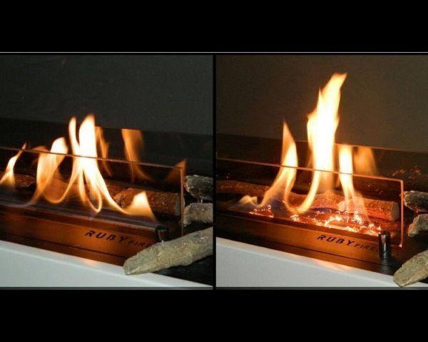 Efekt żarzenia Ruby fires porównanie
