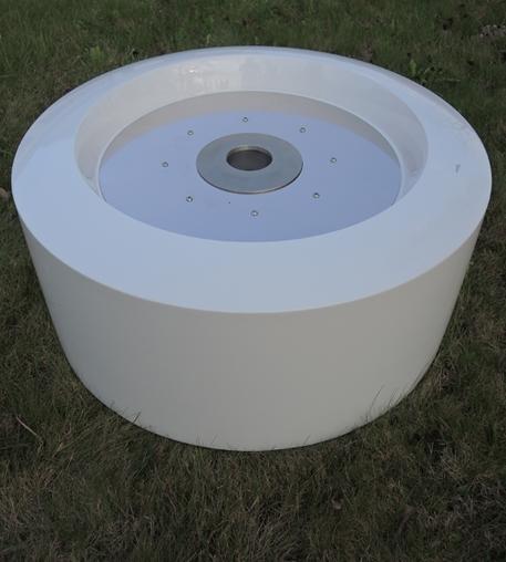 Biokominek Olib biały