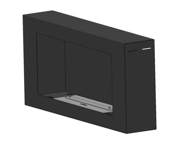 Biokominek Blackbox 910 do zawieszenia na ścianie Simple fire palnik