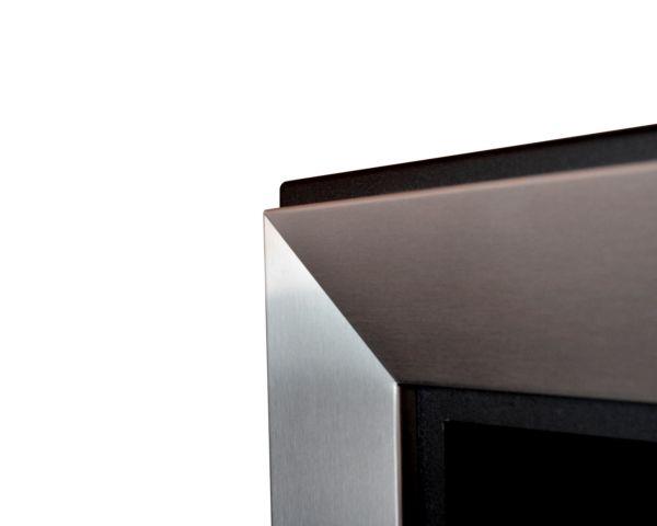 Biokominek Frame 550 stal nierdzewna