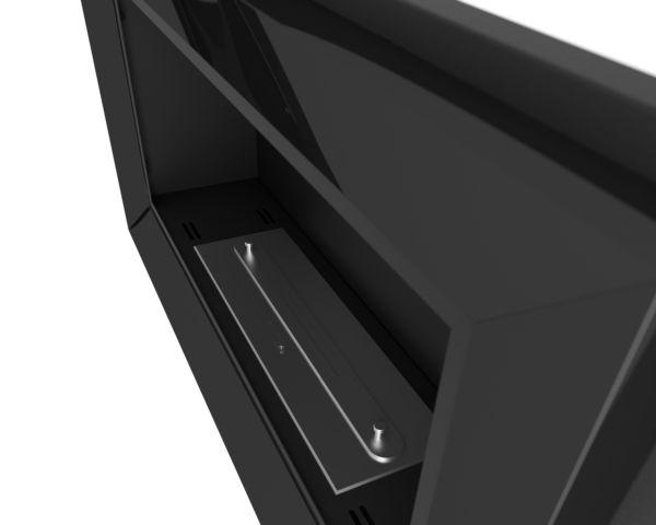 Biokominek Frame 900 ramka kolor czarny