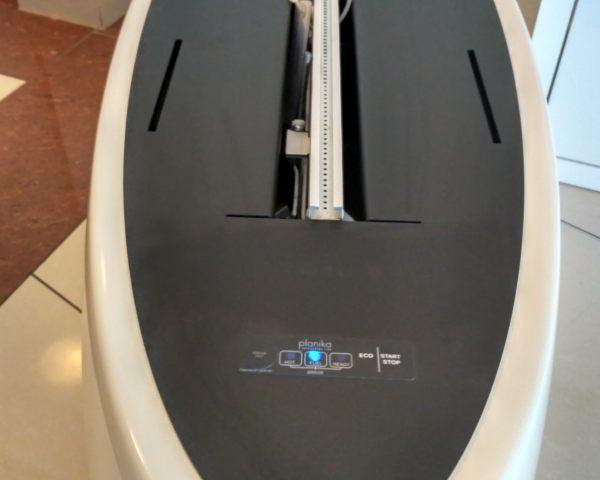 Biokominek Zen panel sterowania