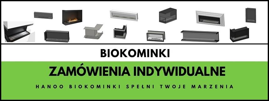 Biokominki na indywidualne zamówienie