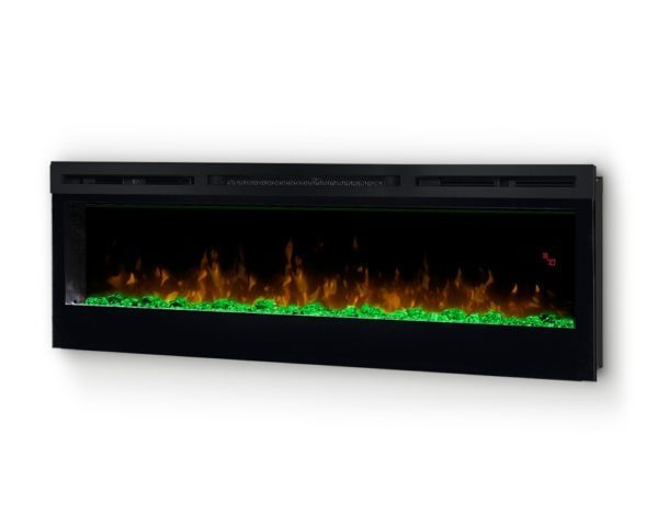 Kominek Prism 50 LED palenisko zielone