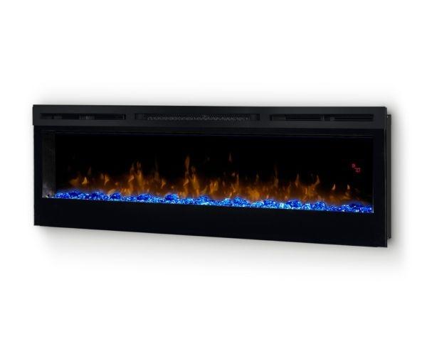 Kominek Prism 50 LED palenisko niebieskie