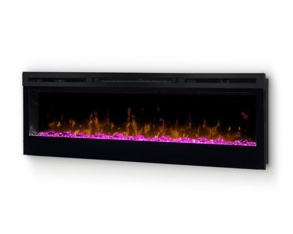 Kominek Prism 50 LED palenisko różowe
