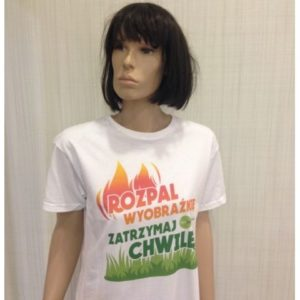 Koszulka Hanoo biokominki biała