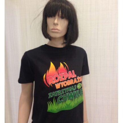 Koszulka Hanoo biokominki czarna
