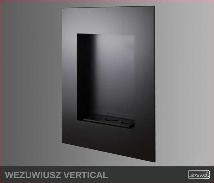 Biokominek Wezuwiusz Vertical