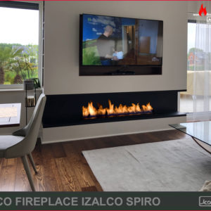 eco fireplace izalco spiro