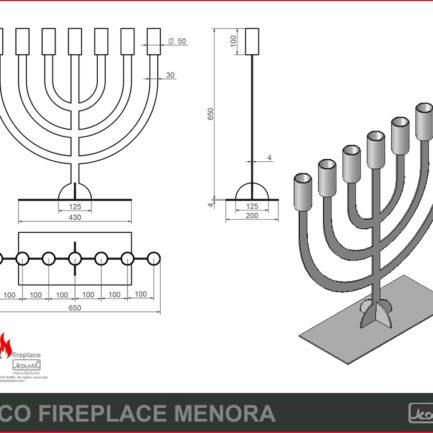eco fireplace menora rys tech