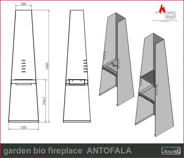 garden bio fireplace antofala bio kominki sklep rys tech