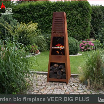 garden bio fireplace veer big plus bio kominki sklep