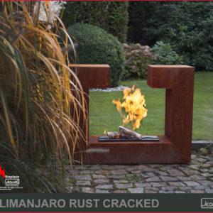 kilimanjaro rust cracked